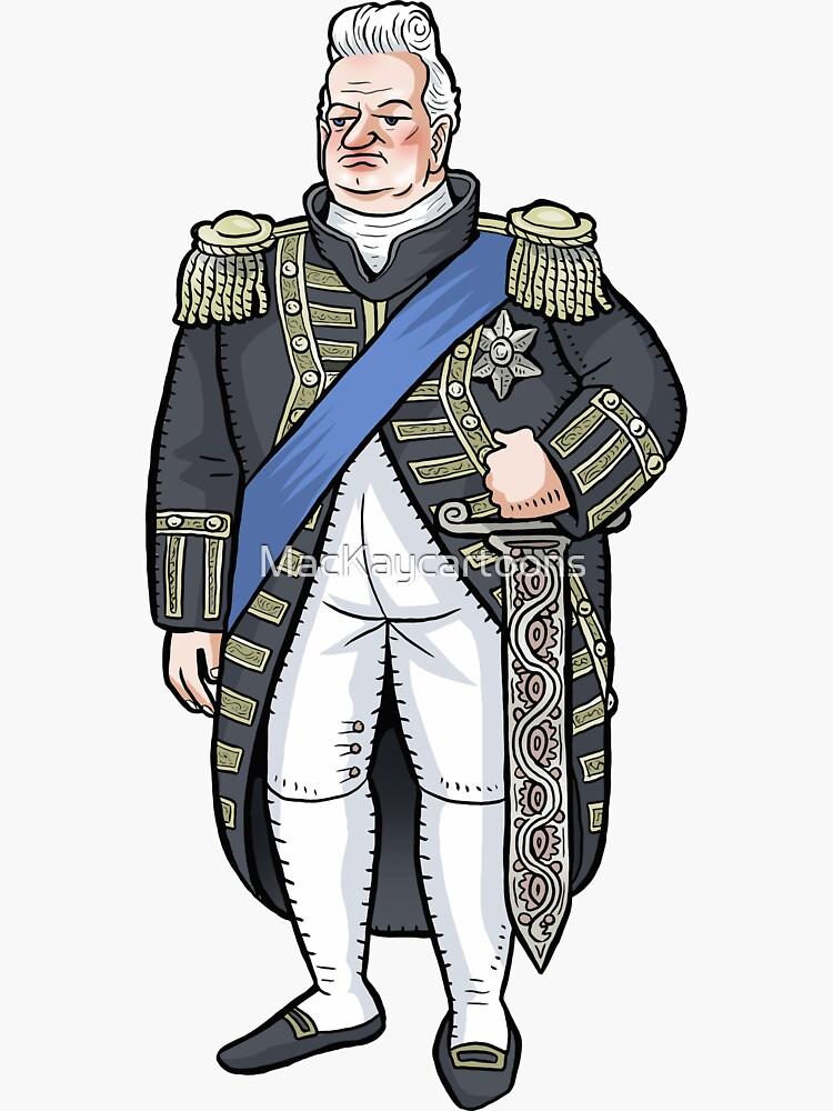 King William IV by MacKaycartoons