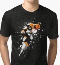 Bass/Forte Splattery Explosion Tri-blend T-Shirt