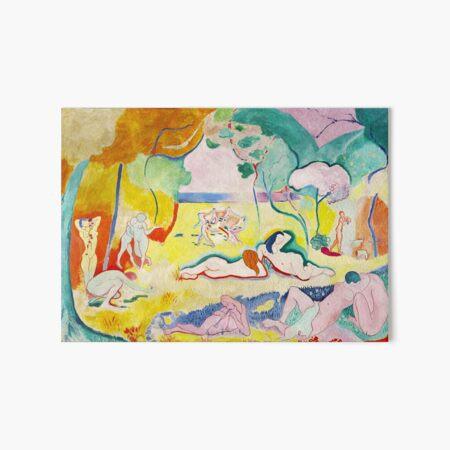 Matisse - Le bonheur de vivre (The Joy of Life) Art Board Print