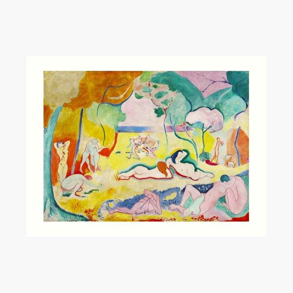 Matisse - Le bonheur de vivre (The Joy of Life) Art Print