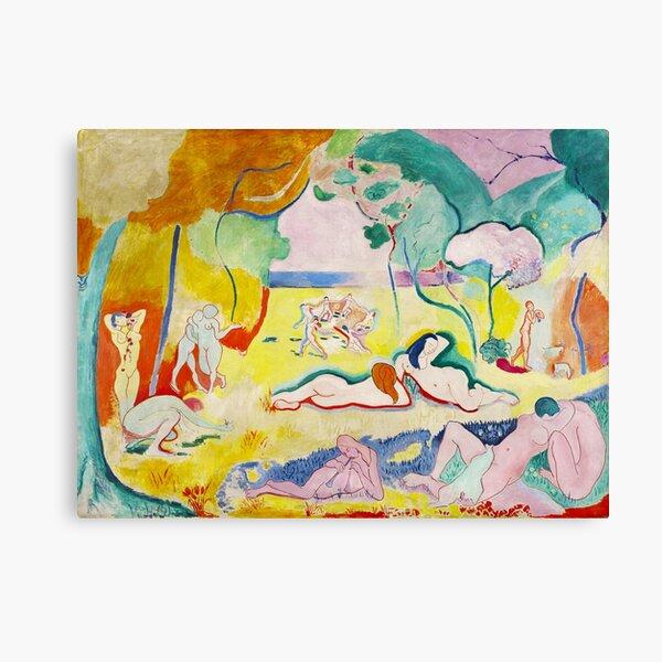 Matisse - Le bonheur de vivre (The Joy of Life) Canvas Print