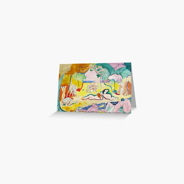 Matisse - Le bonheur de vivre (The Joy of Life) Greeting Card