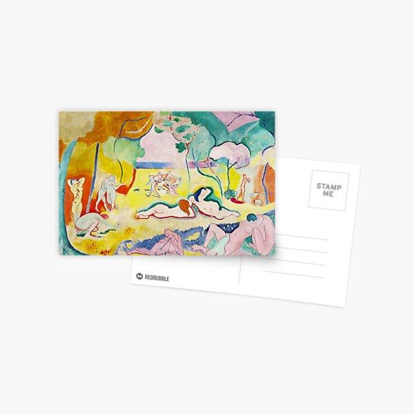 Matisse - Le bonheur de vivre (The Joy of Life) Postcard