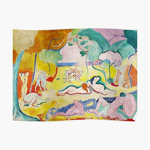 Matisse - Le bonheur de vivre (The Joy of Life) Poster