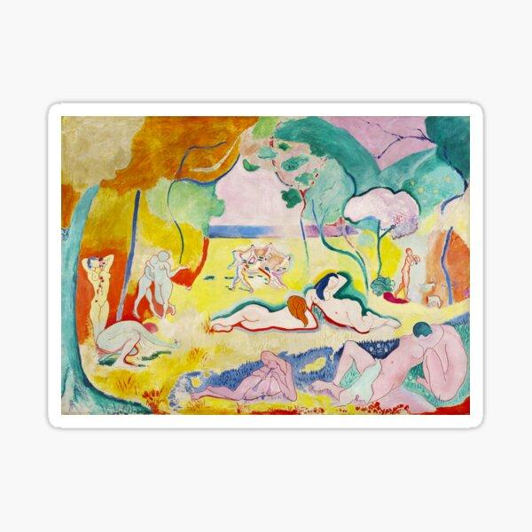 Matisse - Le bonheur de vivre (The Joy of Life) Sticker