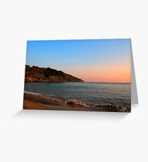 SUNSET - St. ANTHONY'S HEAD Greeting Card