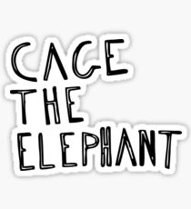 Cage The Elephant Merchandise Sticker