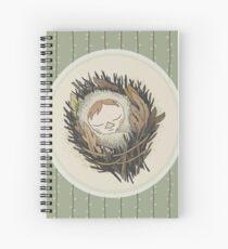Sleeping Salix Spiral Notebook