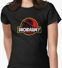 Droidarmy Womens Fitted T-Shirt