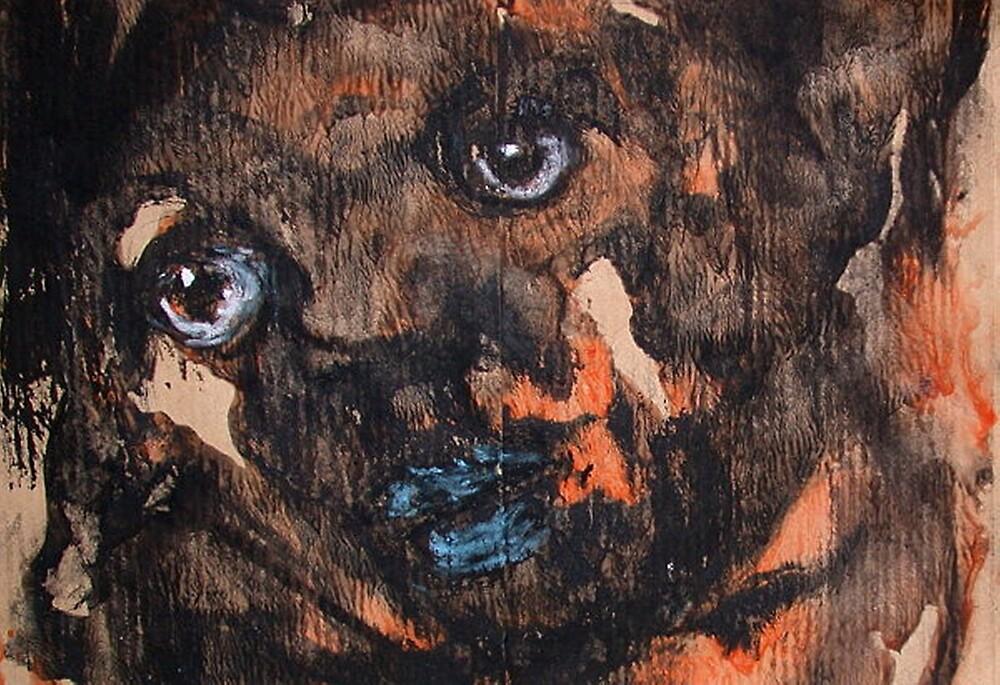 Face, Bernard Lacoque-117 by ArtLacoque