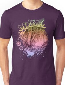Flowers and trees Unisex T-Shirt