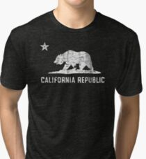 VIntage California Republic Tri-blend T-Shirt