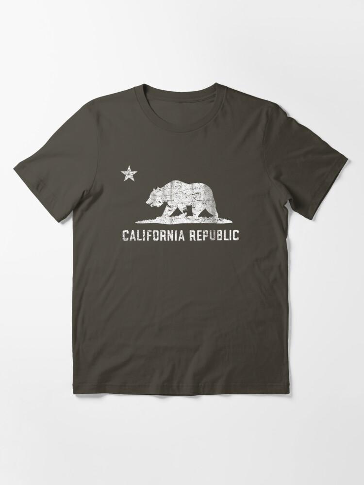 Alternate view of VIntage California Republic Essential T-Shirt