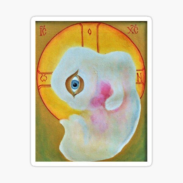 Unborn Christ Sticker