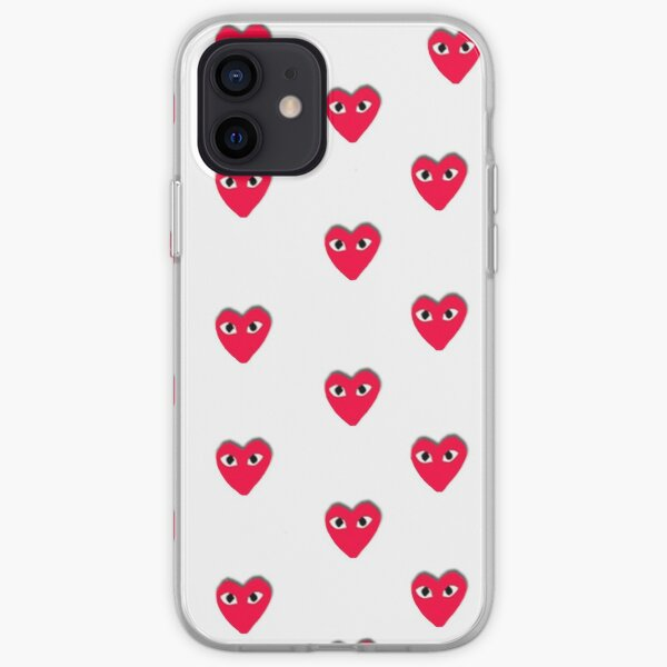 collage de amor Funda blanda para iPhone