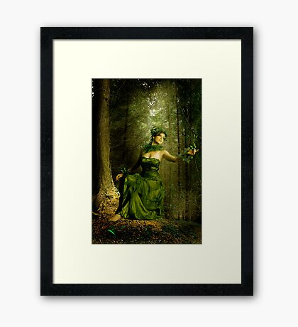 Look deep into nature... Framed Print