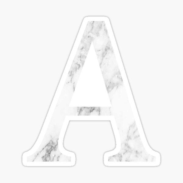 A/Alpha Sticker