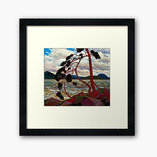 WEST WIND : Vintage 1919 Tom Thomson Algonquin Park Art Print Framed Art Print
