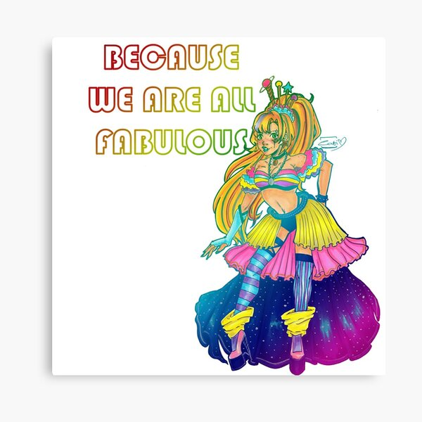 Galaxy Queen. We Are All Fabulous Canvas Print