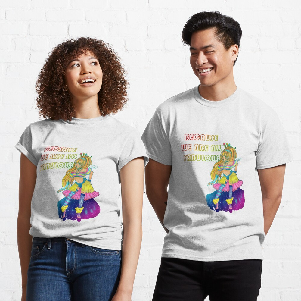 Galaxy Queen. We Are All Fabulous Classic T-Shirt