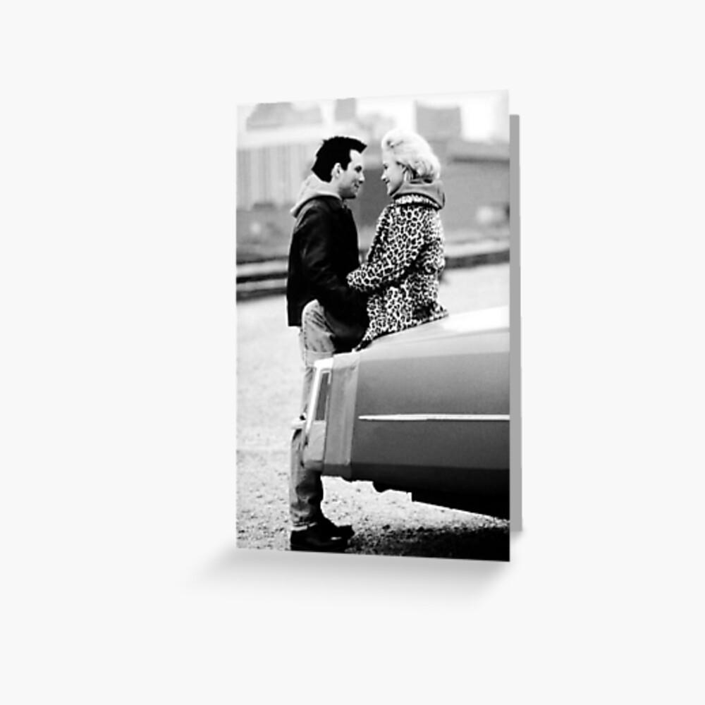 True Romance- Alabama  Clarence on the Cadi!  Greeting Card