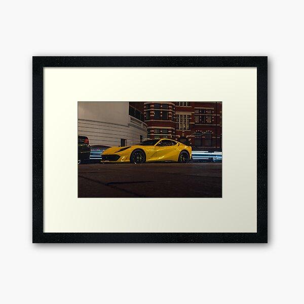 Ferrari 812 Superfast  Framed Art Print