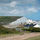 Seven Sisters: White Cliffs on the South Coast. by DonDavisUK