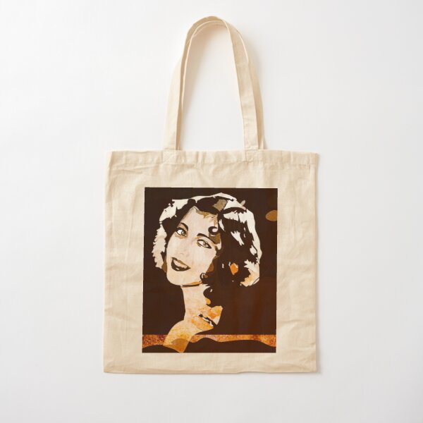 Hollywood Glam Cotton Tote Bag
