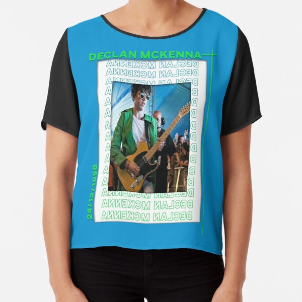 Declan McKenna on guitar Poster Chiffon Top
