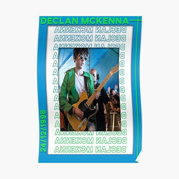 Declan McKenna on guitar Poster Poster
