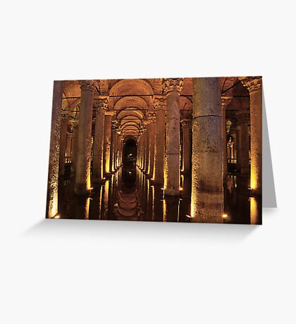 Basilica Cistern Greeting Card
