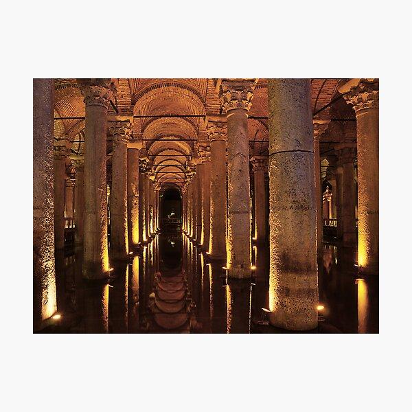 Basilica Cistern Photographic Print