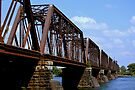 Train Trestle by Laurie Minor