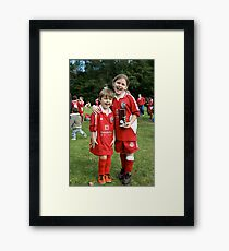 Trophy winners Framed Print