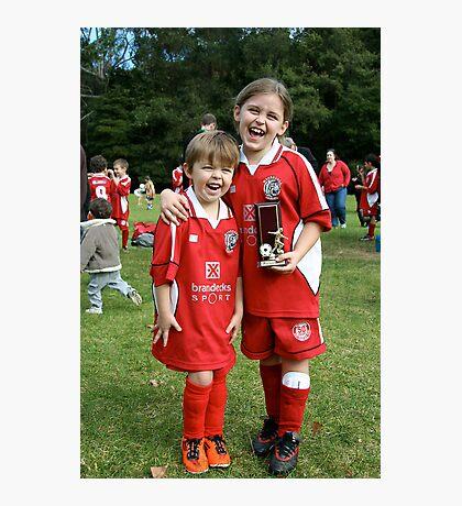 Trophy winners Photographic Print
