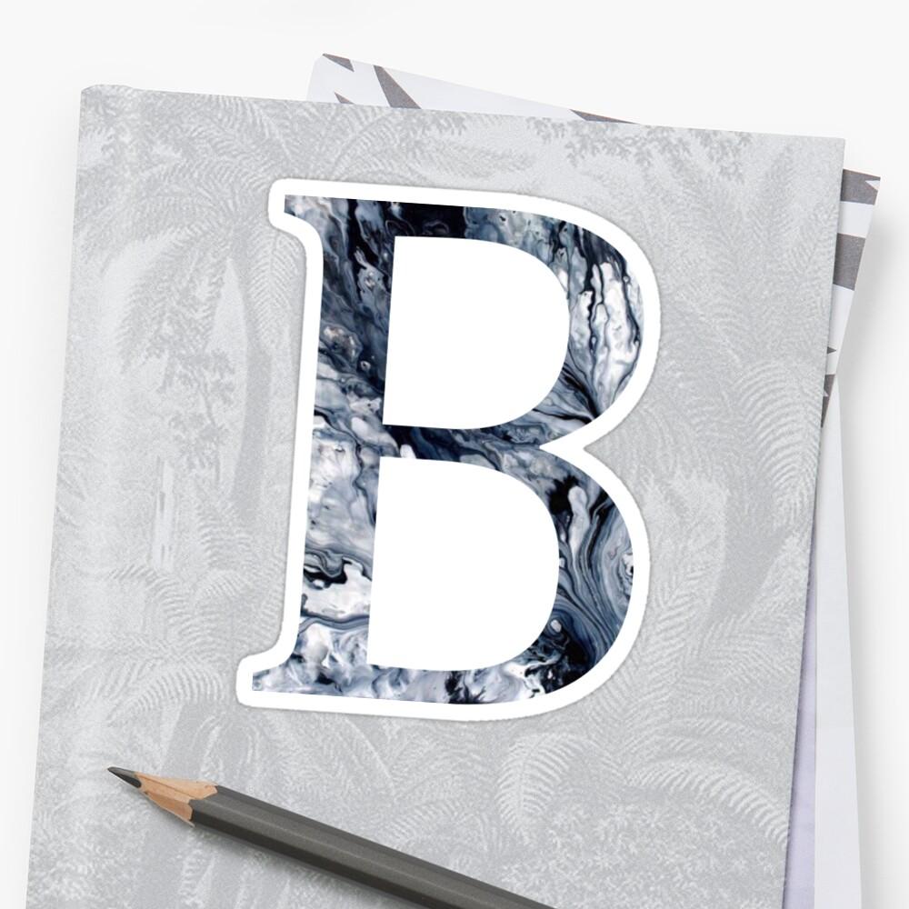 B/Beta Sticker
