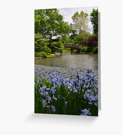 Spring in a Japanese Garden Greeting Card