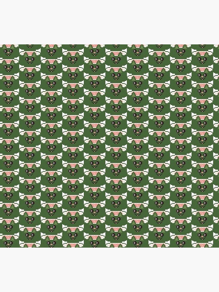 Tuna Maki Sushi Cat Pixel Art by evenstarhancock