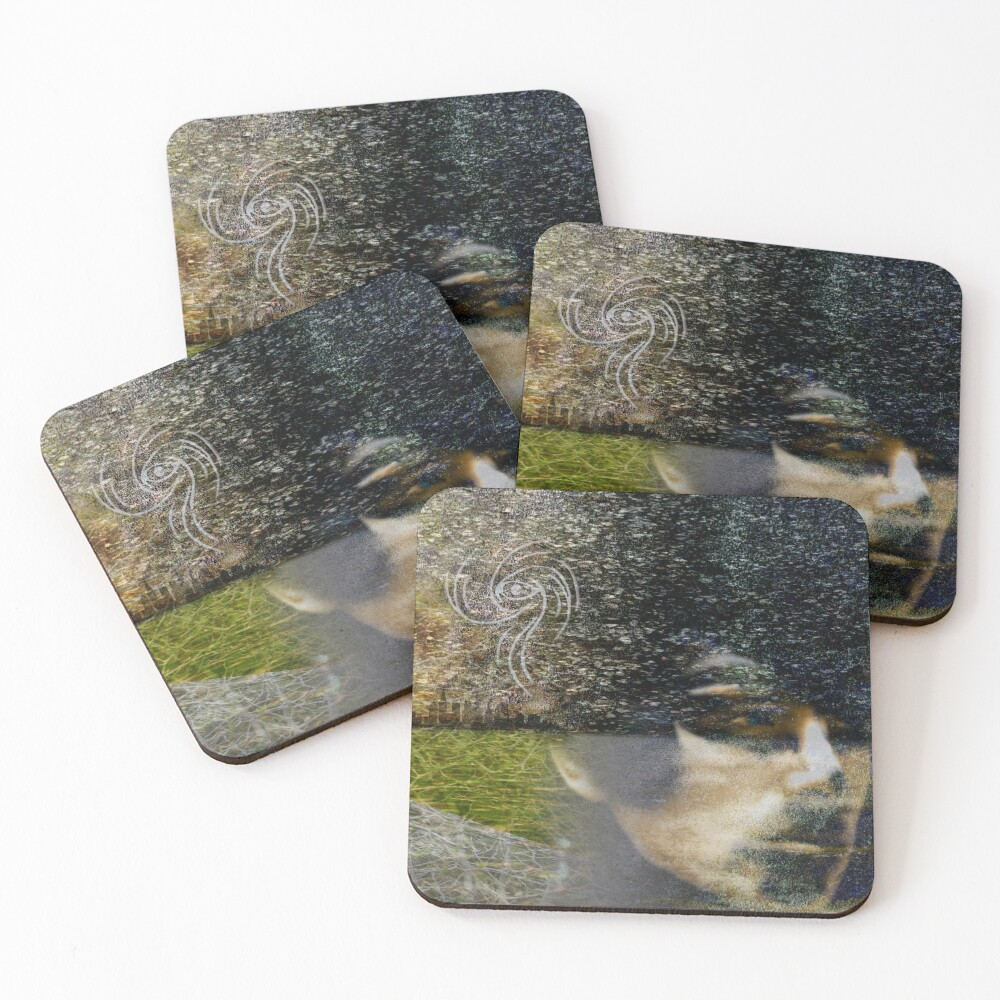 Haunted Memory Coasters (Set of 4)