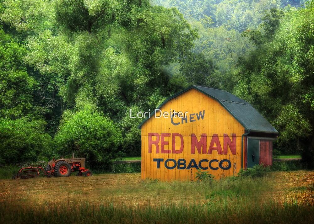 Chew Red Man by Lori Deiter