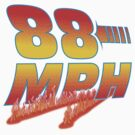 88MPH with flames by shirtoid