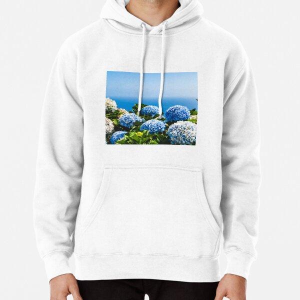 Nantucket Hydrangeas  Pullover Hoodie