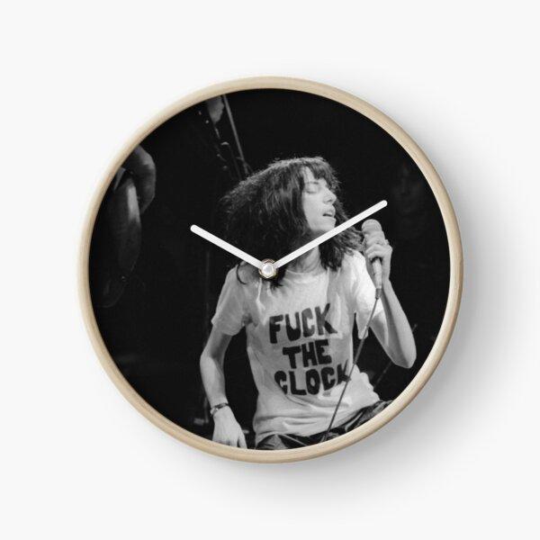patti smith le soir du nouvel an, 1978 Horloge