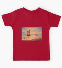 River Thames At Greenwich London Kids Tee