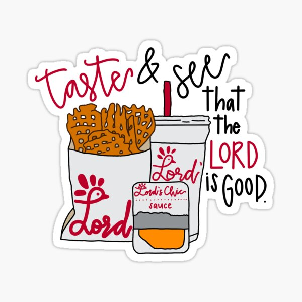 the Lord's chicken Sticker