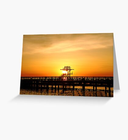 Warmth of a sunrise Greeting Card