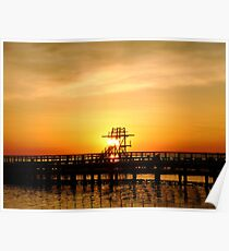 Warmth of a sunrise Poster