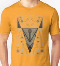 Abstract Line Art Animal Unisex T-Shirt