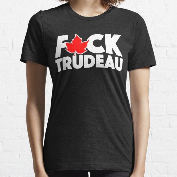 F * ck Trudeau Camiseta esencial
