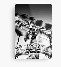 Zippered Metal Print